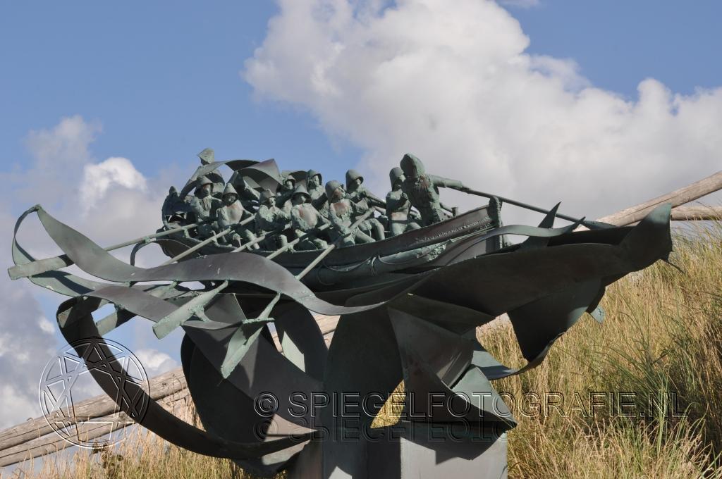 Sculptuur in duinen Noordwijk